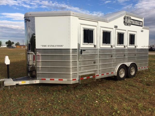 2015 Bloomer Trailer Manufacturing 4 HORSE BP Horse Trailer