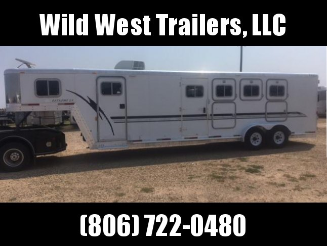 2004 Exiss Trailers Horse Trailer