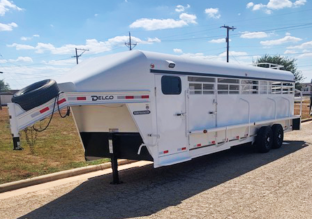 2020 Delco 4 Horse Trailer with Smart Tack