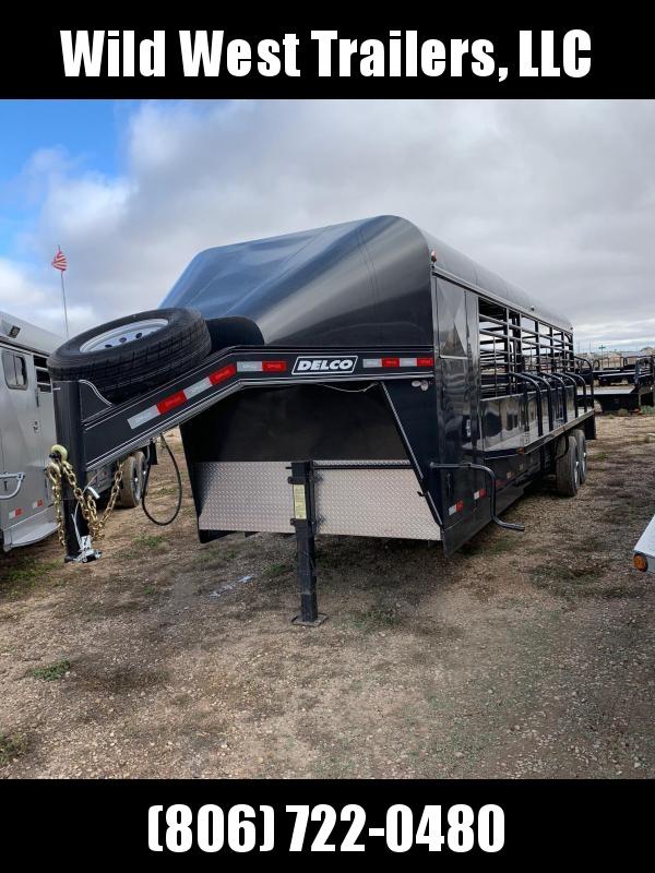 2018 Delco Trailers 26 ft Livestock Trailer