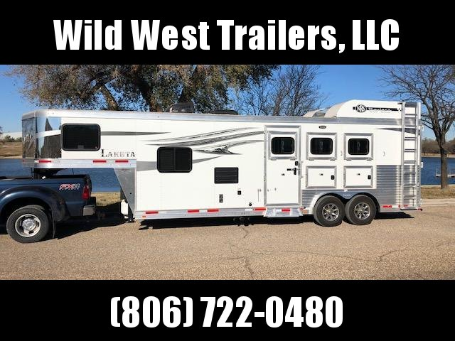 2018 Lakota 3 Horse Trailer