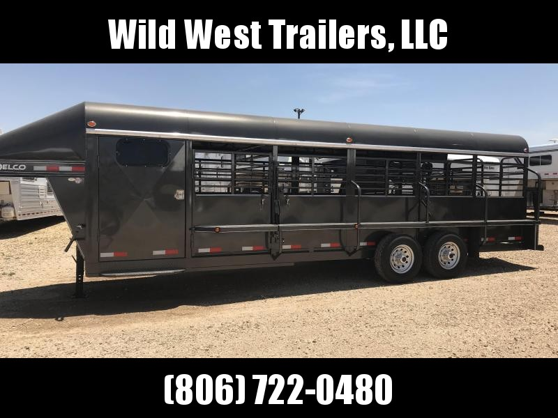 2018 Delco 24FT Livestock Trailer