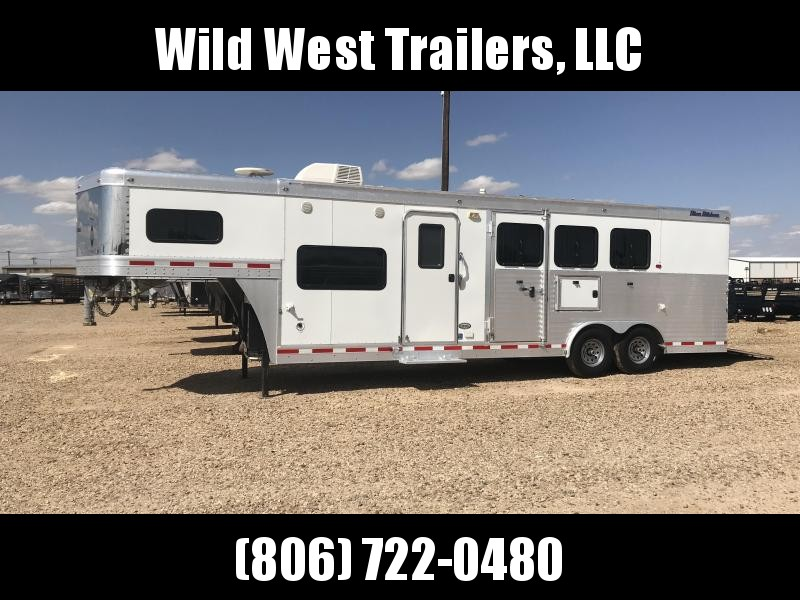 2010 Blue Ribbon Trailers 3 Horse Trailer