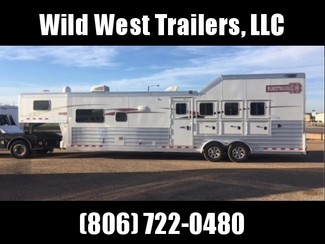 2017 4-Star Trailers 4H - 14ft SW Horse Trailer
