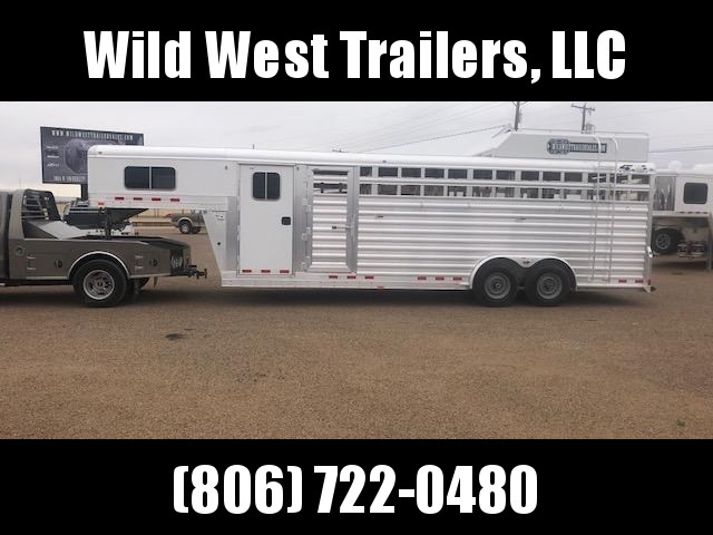 2018 4-Star Trailers 24ft  Dual Tack Livestock Trailer