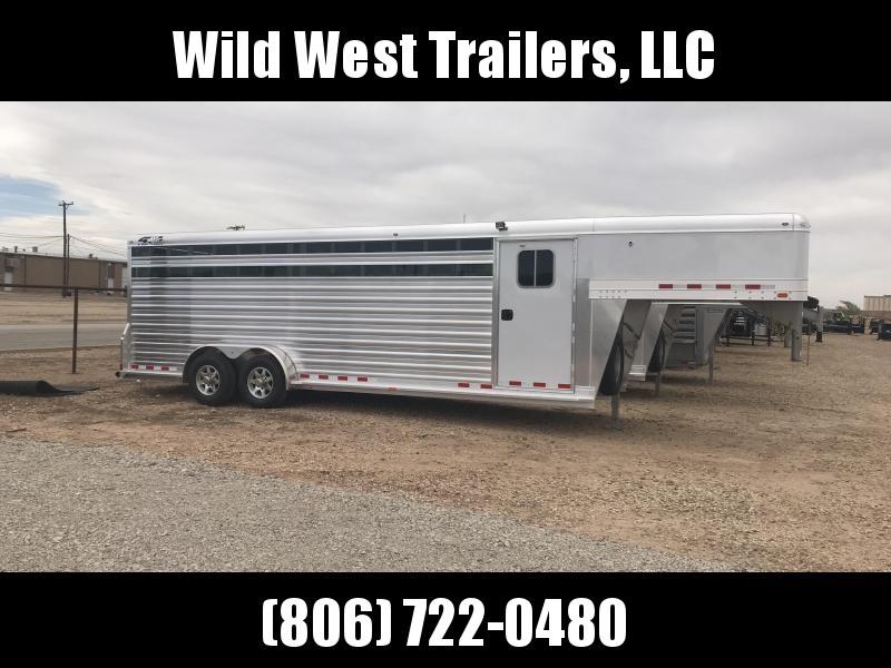 2018 4-Star Trailers 24ft Livestock Trailer