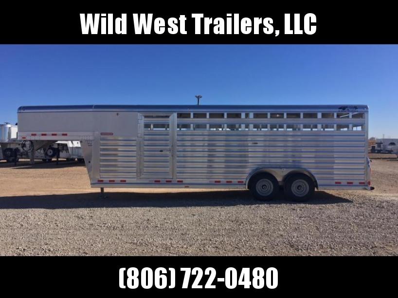 2018 4-Star Trailers 7x24 Livestock Trailer