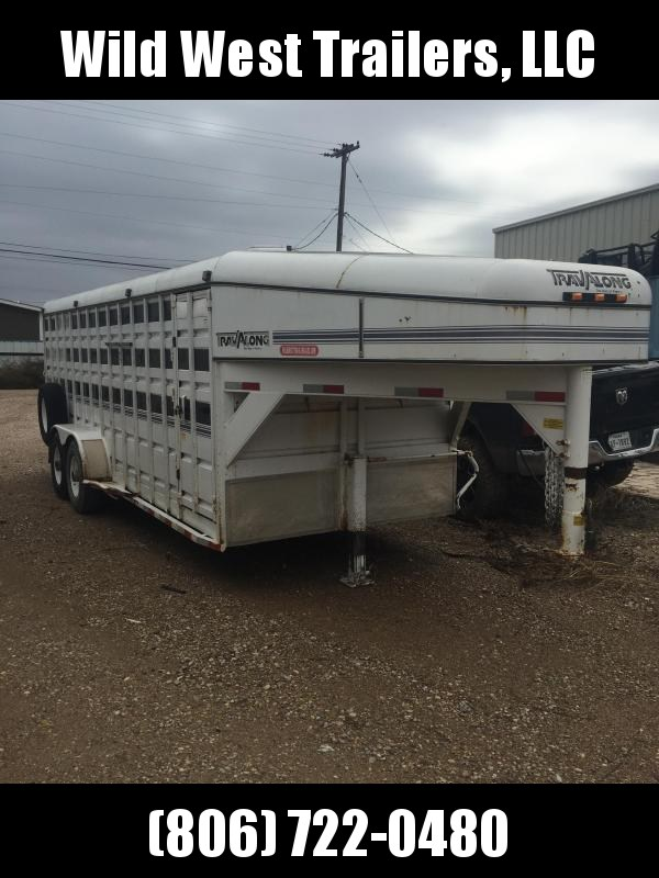 1999 Travalong Steel Livestock Trailer