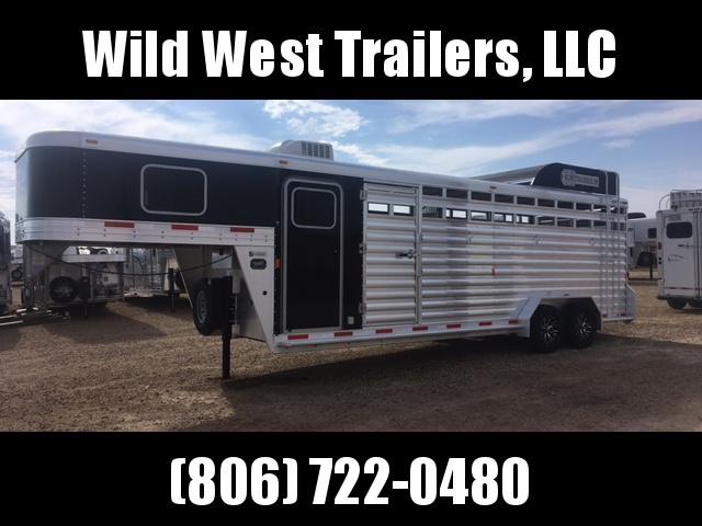2016 Exiss STC 7024 Livestock Trailer