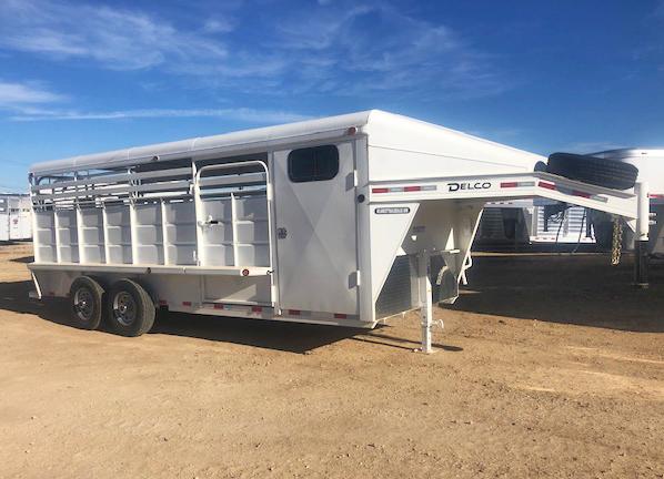 2019 Delco 20 ft Livestock Trailer