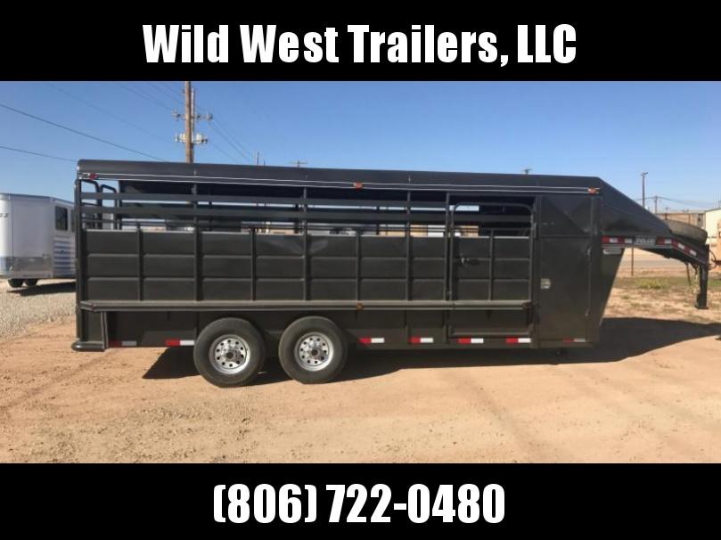 2018 Delco Trailers 6x20 Livestock Trailer