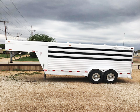 2004 Integrity 16' Stock Trailer