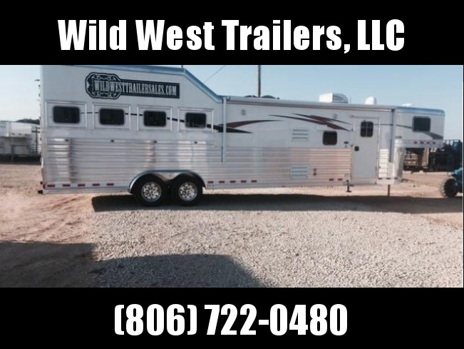 2018 4-Star Trailers 4 Horse Horse Trailer