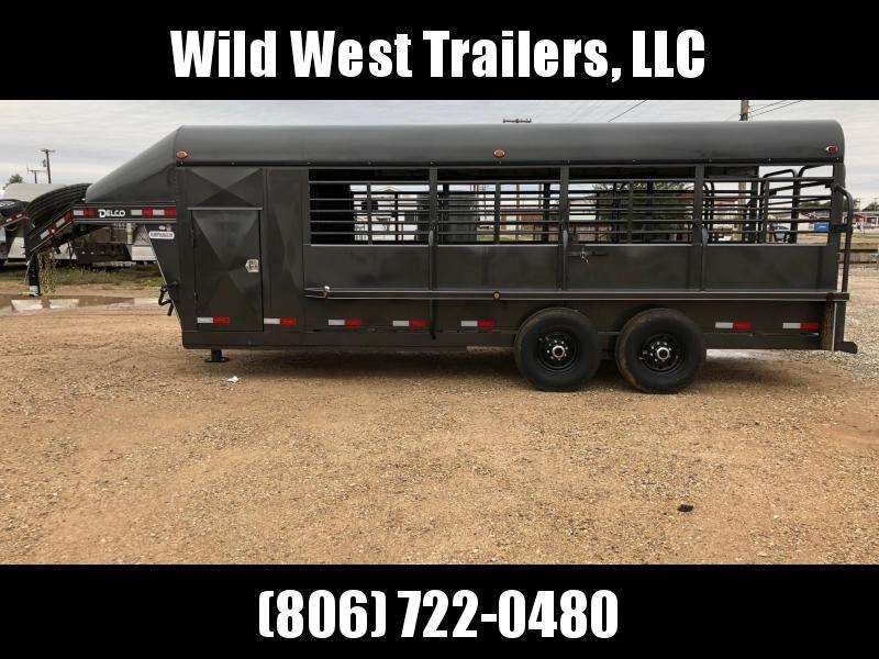 2019 Delco Trailers 20 ft Livestock Trailer