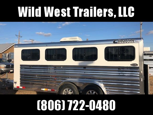 2019 Cimarron Trailers 20 ft LP Show Livestock Trailer