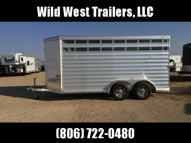 2017 Exiss Trailers 3 Horse Bumper Pull Horse Trailer