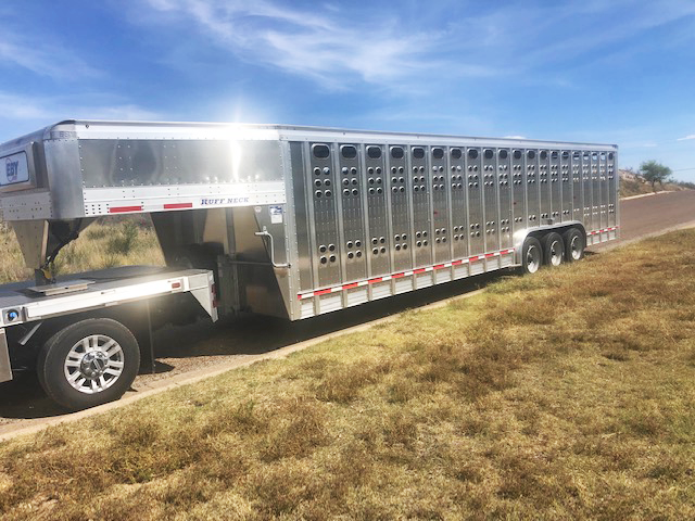 2019 EBY Rough Neck Livestock Trailer