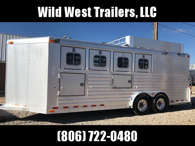 2002 4-Star Trailers 4 Horse Trailer