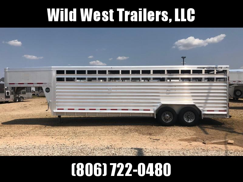 2016 Featherlite 24 ft Livestock Trailer