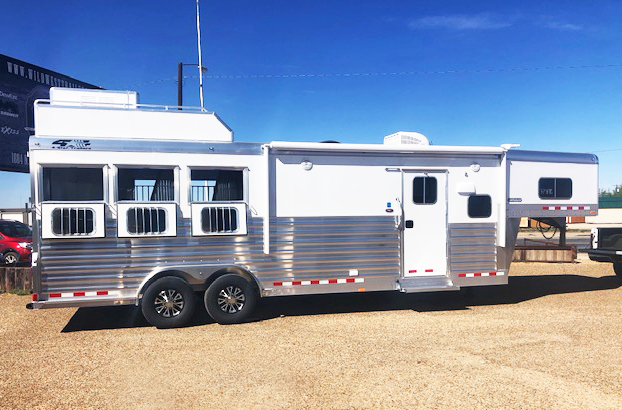 2019 4-Star Trailers 3 Horse Horse Trailer