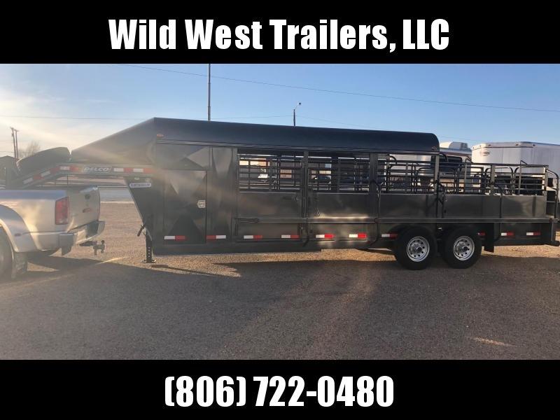 2018 Delco Trailers 24 ft Premium Livestock Trailer