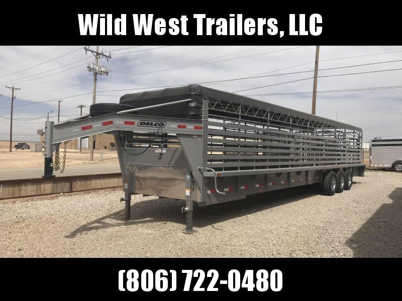 2018 Delco 36ft Livestock Trailer