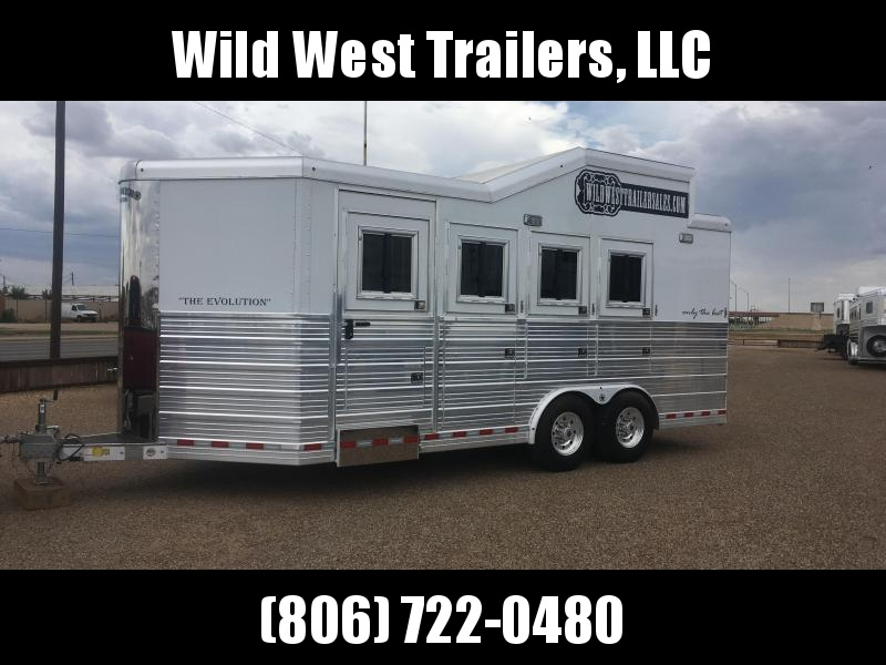 2015 Bloomer Trailer Manufacturing Bumper Pull Horse Trailer