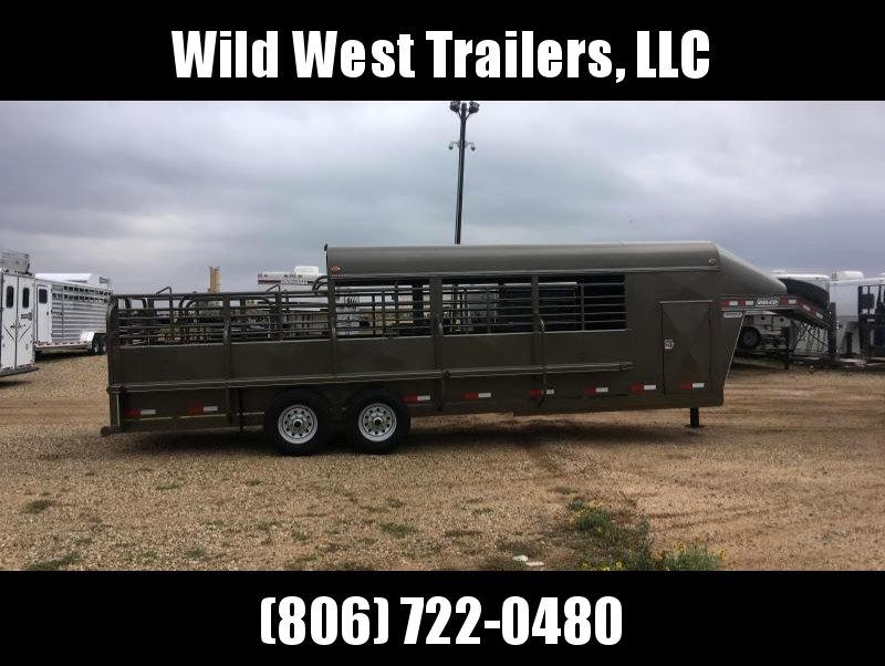 2018 Delco Trailers Premium Livestock Trailer