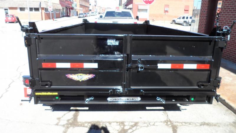 2020 H and H Trailer 83X14 DBW DUMP BOX 14K