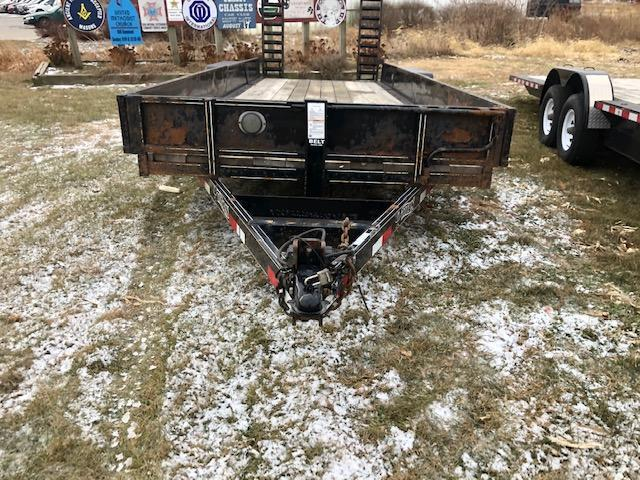 2010 Titan Trailers Bobcat Trailer Equipment Trailer