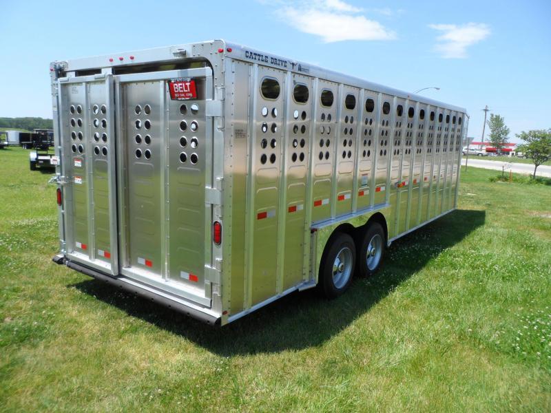 2020 Merrit Trailers Cattle Drive Livestock Trailer