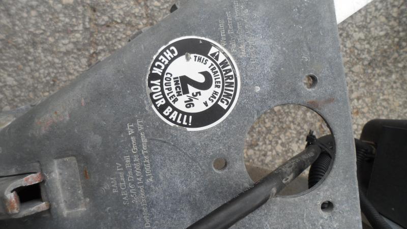 2012 H & H Trailers Speedloader Equipment Trailer
