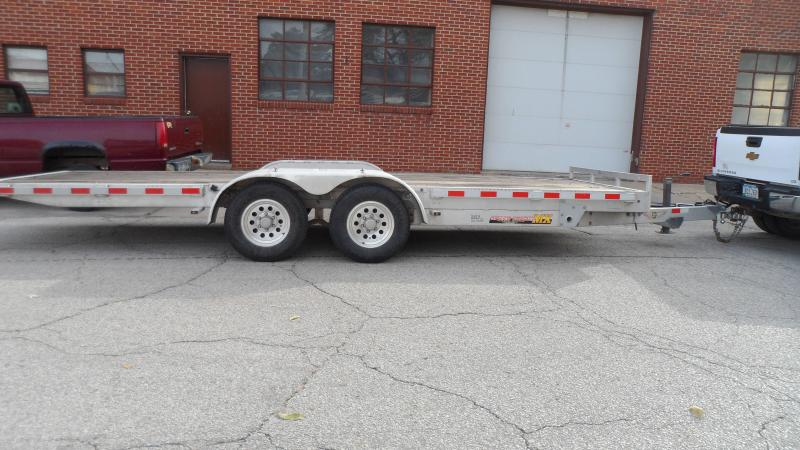 2012 H & H Trailers Speedloader Equipment Trailer