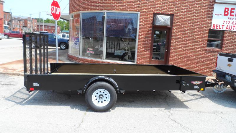 2019 H and H Trailer 82X14 STEEL SOLID SIDE 5K