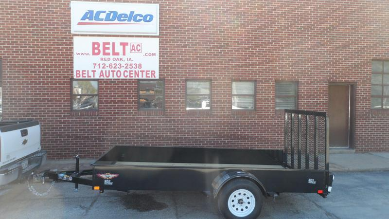 2019 H and H Trailer 76X12 STEEL SOLID SIDE 3.5K