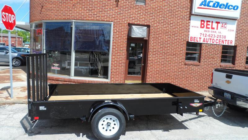 2018 H and H Trailer 8X12 STEEL SOLID SIDE 3.5K