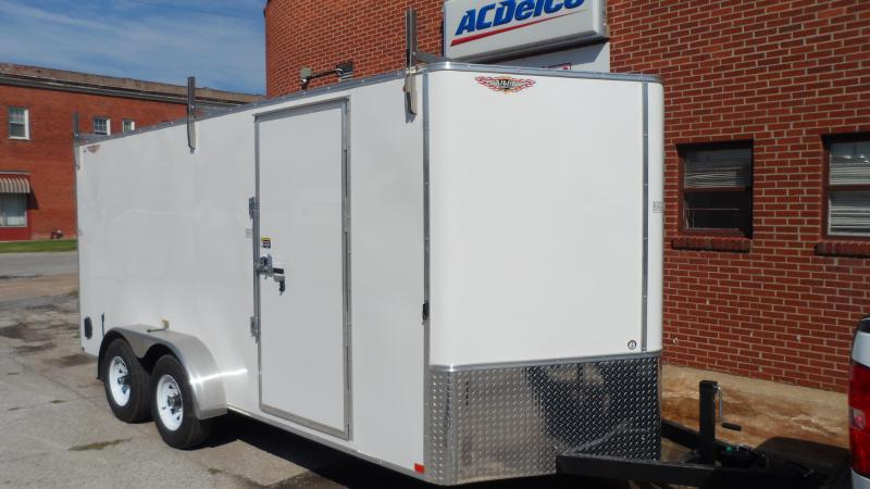 2020 H and H Trailer 7X16 TDM FLAT TOP HH VN 10K CARGO