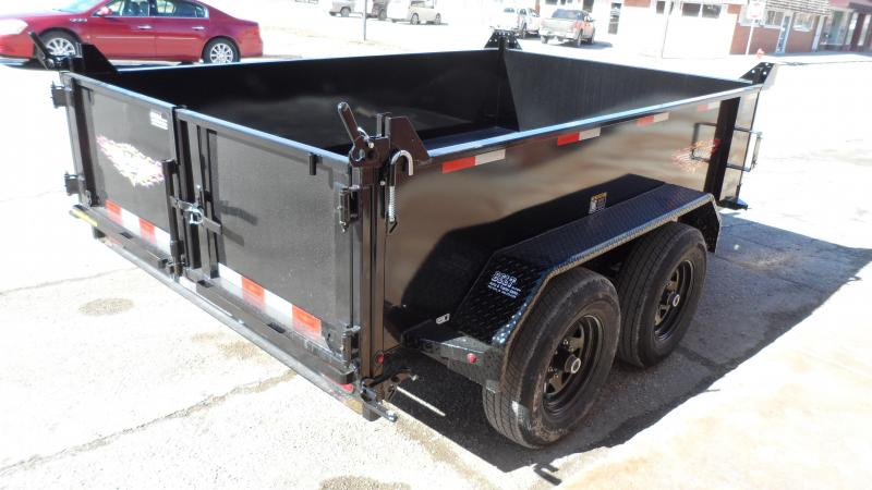 2020 H and H Trailer 76X10 UTILITY DUMP 24IN SW 10K BRAKE