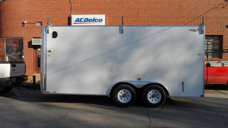 2020 H and H Trailer 8X16 TDM FLAT TOP HH VN 10K CARGO
