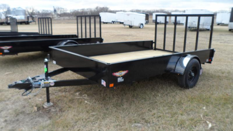 2020 H and H Trailer 82X12 STEEL SOLID SIDE 5K
