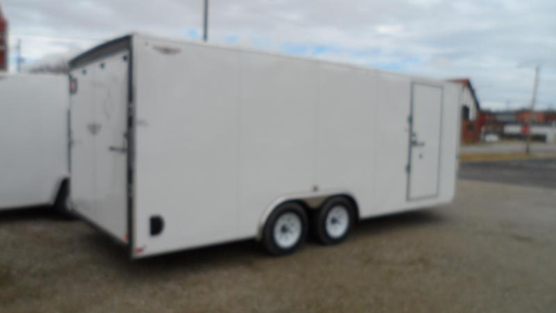 2020 H and H Trailer Cargo Enclosed Cargo Trailer  (Hail damage call for pricing.)