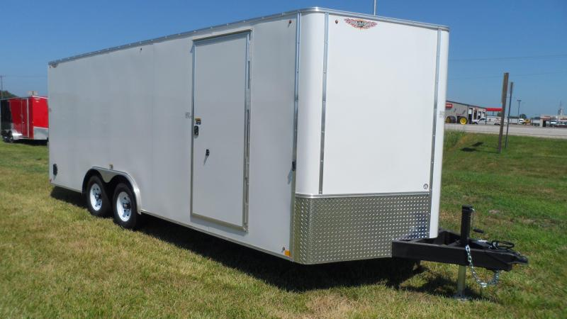 2019 H and H Trailer 101X20 TDM FLAT TOP HH VN 10K CARGO