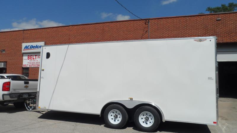 2020 H and H Trailer 8X18 TDM FLAT TOP HH VN 10K CARGO
