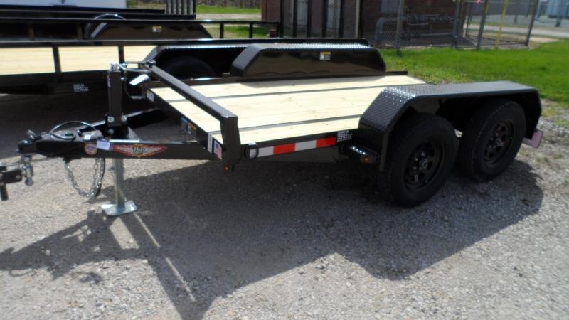 2020 H and H Trailer 60X10 FUEL 7K