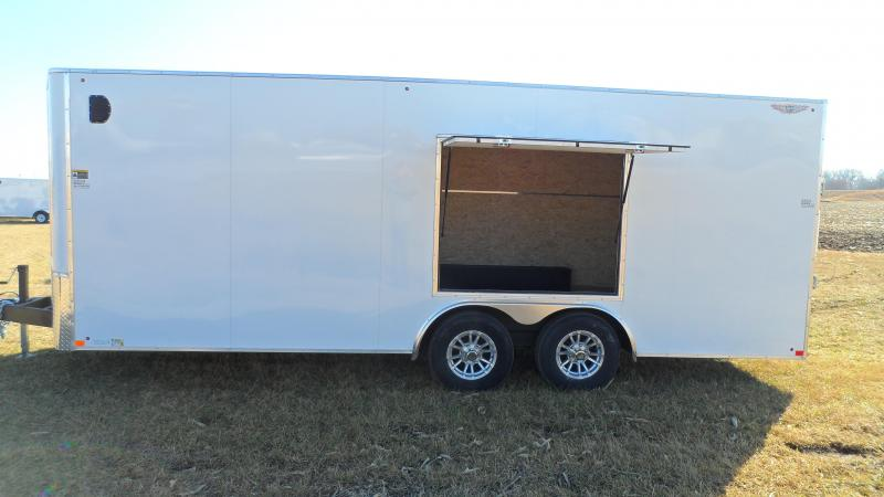 2020 H and H Trailer 101X20 HH F-TOP CARHAUL VNOSE 10K CARGO  (Hail damage call for pricing.)