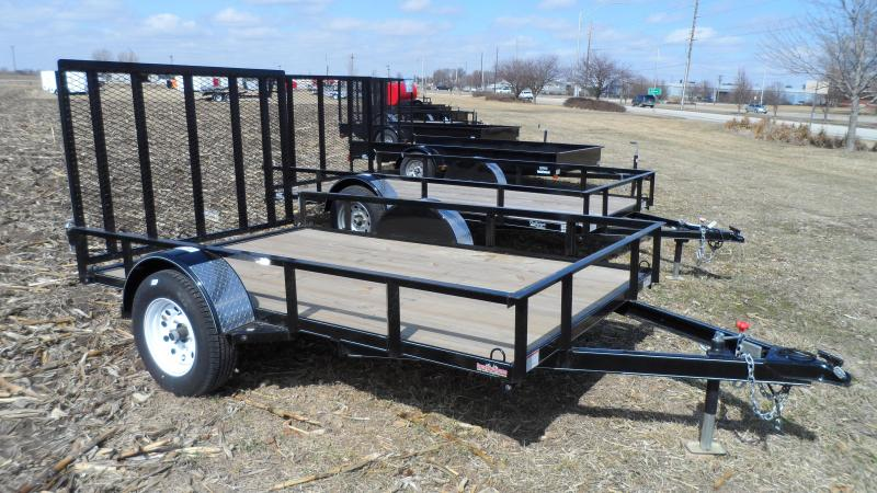 2017 Finish Line LRR3 8x10 Utility Trailer