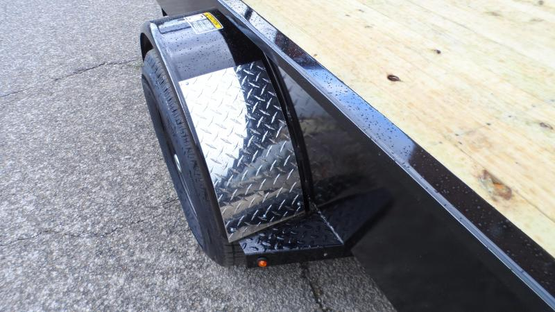 2020 H and H Trailer 82X14 STEEL SOLID SIDE 5K