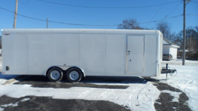 2019 H and H Trailer 101X24 HH R-TOP CARHAUL VNOSE 10K CARGO