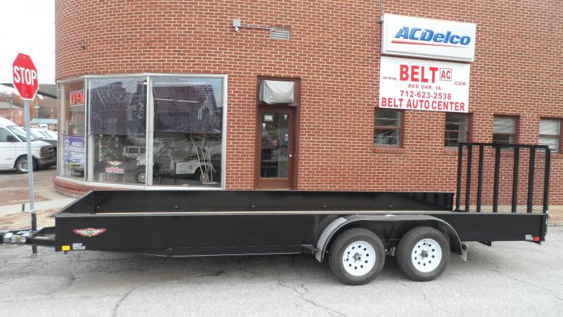 2017 H and H Trailer Solid side Utility Utility Trailer