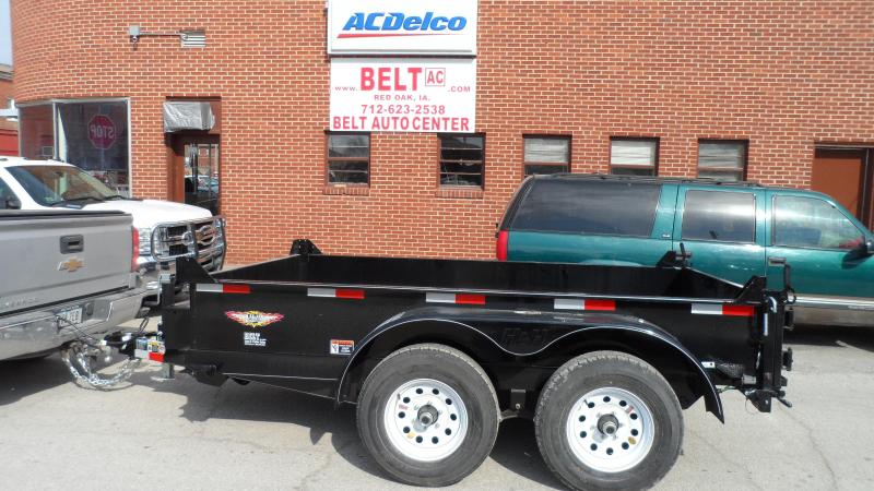 2018 H and H Trailer 76X10 UTILITY DUMP 15IN SW 10K BRAKE